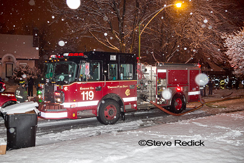 Chicago Fire Department Engine 119