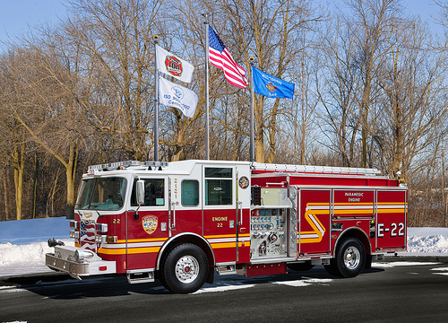 new fire engine for Romeoville FD