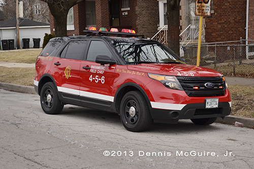 Chicago FD Paramedic Field Chief 4-5-6