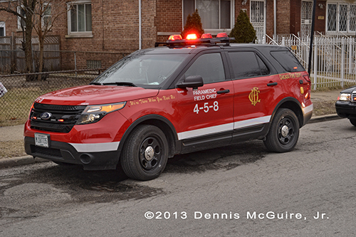 Chicago FD Paramedic Field Chief 4-5-8