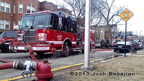 Chicago Fire Department Engine 117