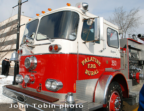 old Seagrave engine Palatine Rural FPD