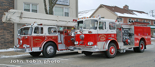 old Seagrave fire engines