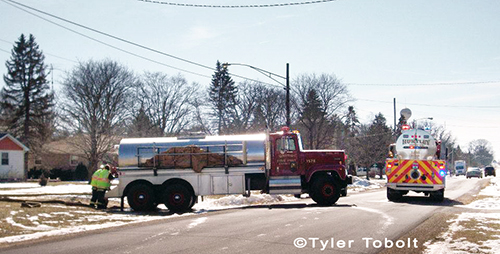 fire department tanker