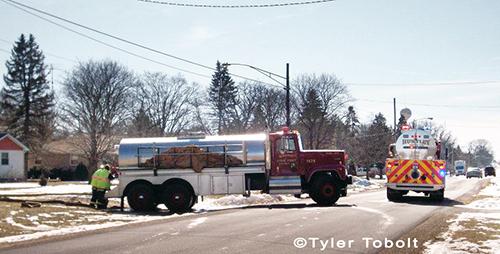 fire department tanker