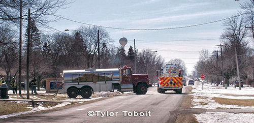 fire department tankers