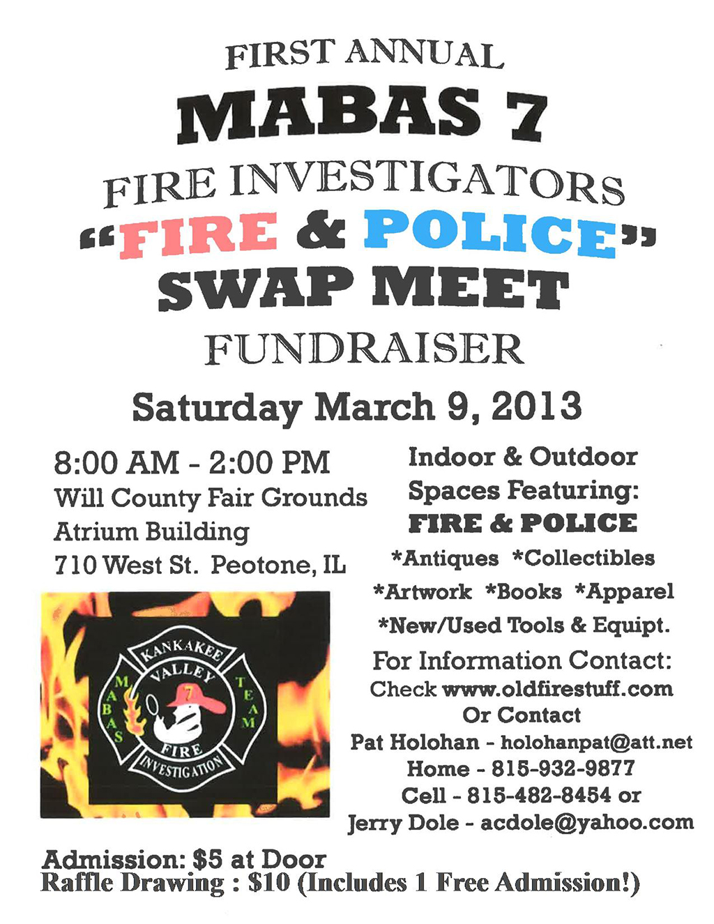 Fire & Police Swap Meet