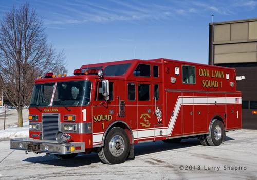 Oak Lawn Fire Department Squad 1