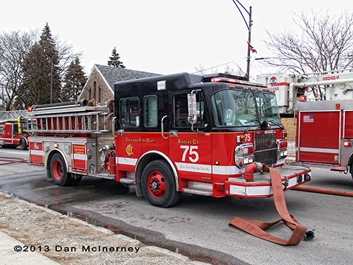 Chicago FD Engine 75