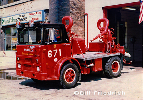 Chicago FD Turret Wagon 6-7-1