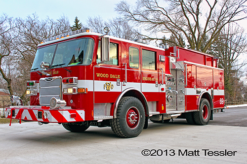 new engine for Wood Dale FD