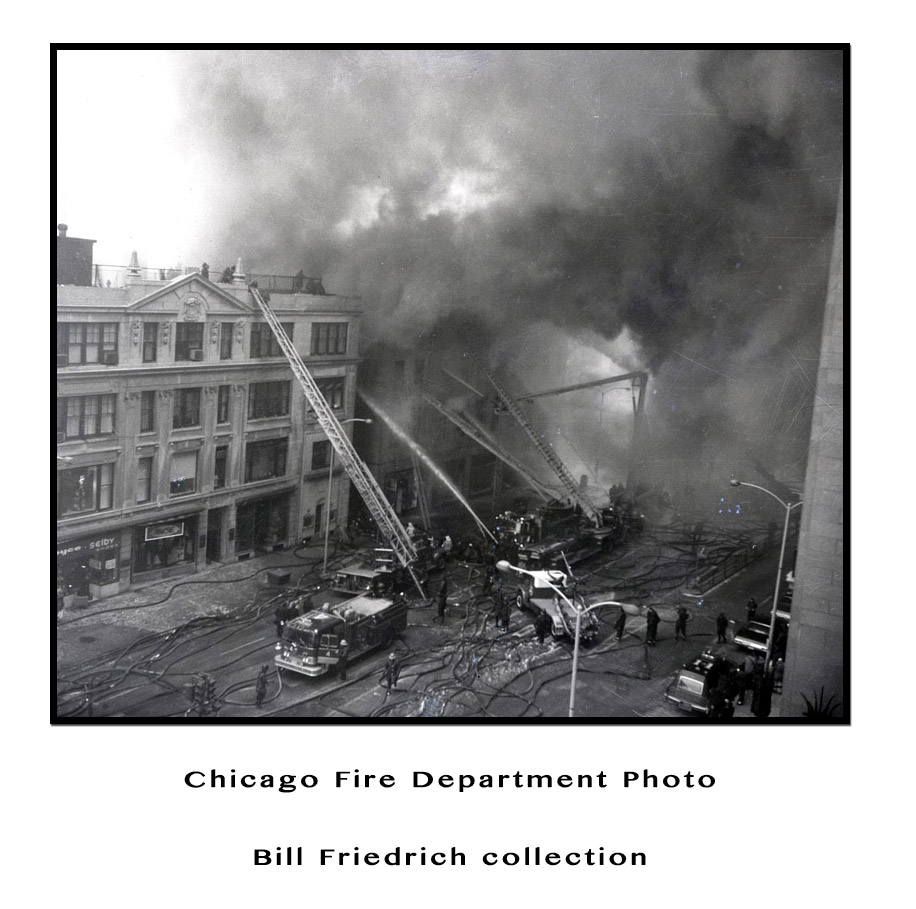 Big Mo Turret Wagon at Chicago Fire