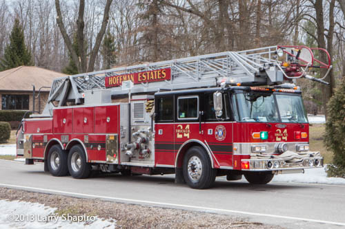 Hoffman Estates Fire Department Reserve Truck 24