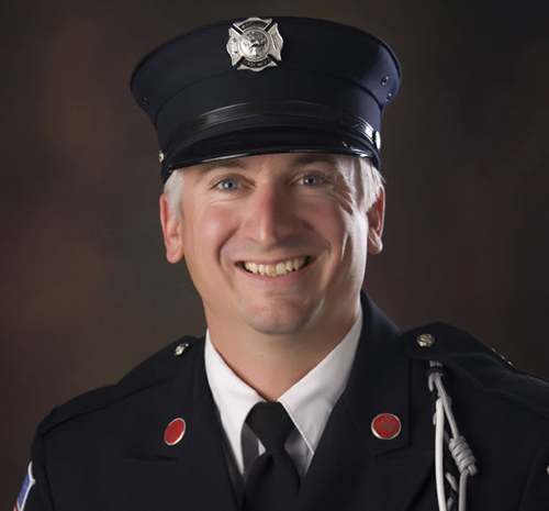 Bloomington Firefighter Chris Brown