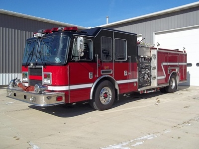 Frankfort FPD sells old engine