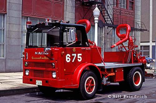 Chicago FD Turret Wagon 6-7-5