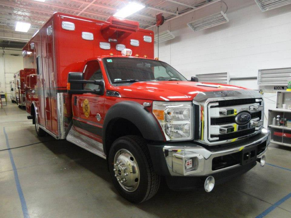 New ambulance for the West Chicago FPD.