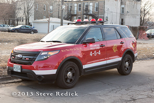 Chicago FD Paramedic Field Chief 4-5-4