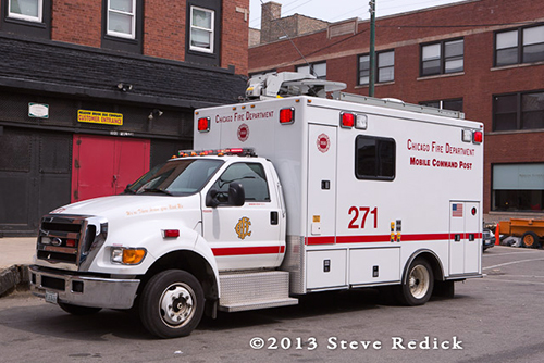 Chicago FD Command Van