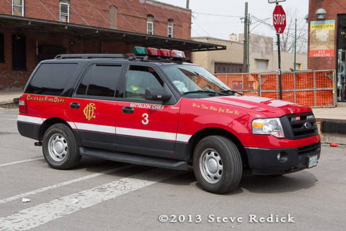 Chicago FD Battalion 3