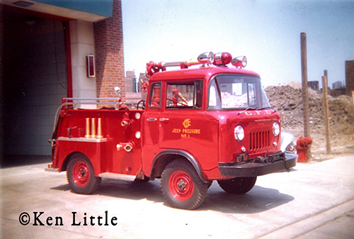 Chicago Fire Department Fog Pressure Unit