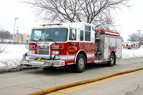 Lake Zurich Fire Department Pierce engine