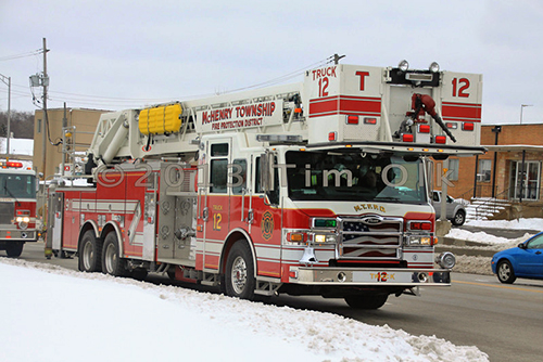 McHenry Township FPD tower ladder