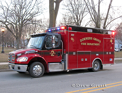 Downers Grove Fire Department Ambulance 2 Medtec