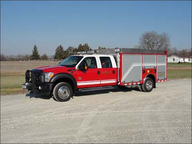 new fire engine for Batavia FD