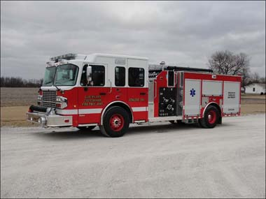 Elburn FPD Alexis engine