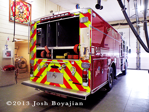 new engine for Skokie Fire Department Engine 17