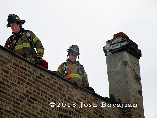 house fire in Berwyn 3-7-13 fire department firefightershouse fire in Berwyn 3-7-13 fire department firefighters