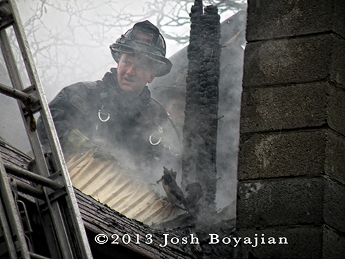 Chicago FD house fire 3-10-13 at  1223 S Kildare