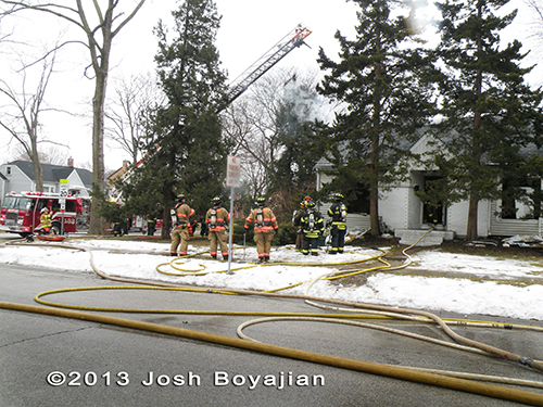 house fire in Bensenville 3-15-13