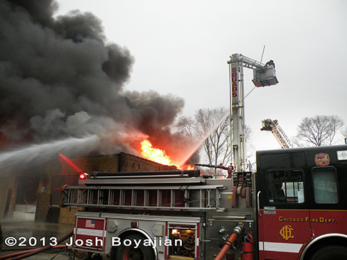 Chicago 2-11 Alarm fire 3-15-13