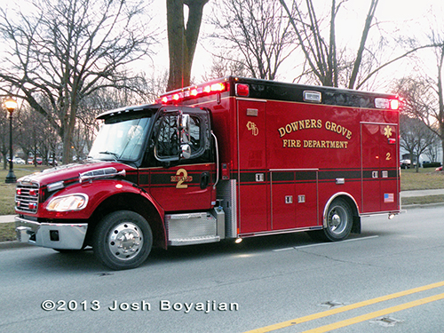 Freightliner Downers Grove ambulance