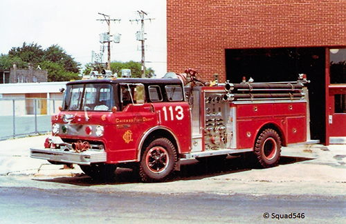Chicago FD Engine 113 Ford E-ONE