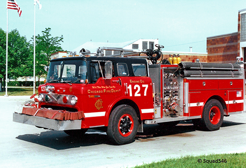 Chicago FD Engine 127 Ford E-ONE