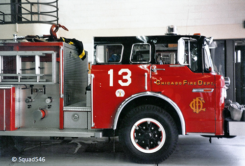 Chicago FD Engine 13 Ford E-ONE