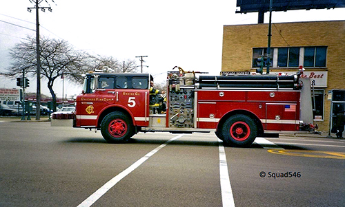 Chicago FD Engine 5 Ford E-ONE