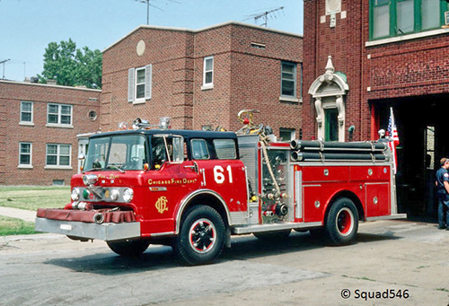 Chicago FD Engine 61 Ford E-ONE