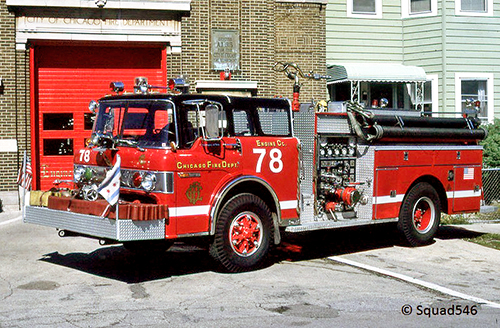 Chicago FD Engine 78 Ford Pierce