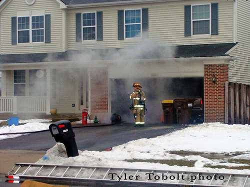 house fire in Huntley IL 3-11-13