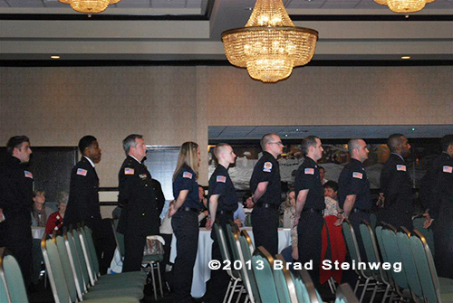 MABAS Division 24 firefighter graduation ceremony