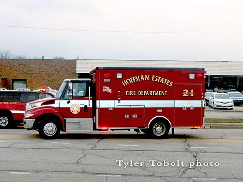Hoffman Estates Ambulance 21