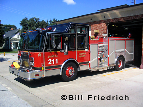 Tinley Park FD Engine 211