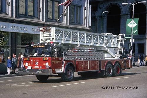 Chicago Fire Department Truck 1 Morita Ladder