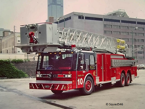 Chicago FD Tower Ladder 10