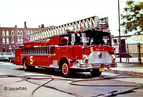 Chicago Truck 5 Mack CF Pirsch