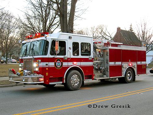 Western Springs Fire Department Engine 1711